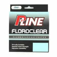 P-Line Floroclear 15# 300 yds Clear Fluorocarbon Coated Fishing Line