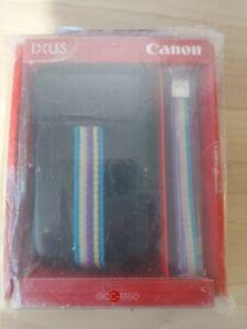 Job Lot Of 10 Canon DCC-1350 Soft Leather Digital Camera Case IXUS Protector