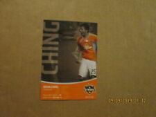 MLS Houston Dynamo #25 Brian Ching Forward Team Logo Player Postcard