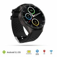Android 5.1 Quad Core 4GB Bluetooth 3G Smart Watch GPS WIFI For iPhone Samsung