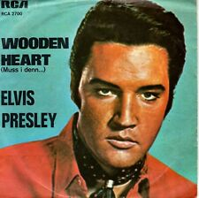 7inch ELVIS PRESLEY wooden heart GERMAN 1977 EX+/EX   (S1454)