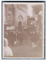 Egypte, Caire (القاهرة), Scène animée de la ville  Vintage citrate print T