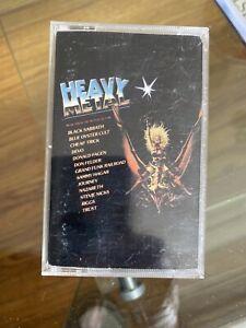 Heavy Metal Soundtrack Sabbath Oyster Cult Hagar Nazareth Devo Cassette Movie