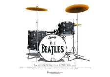 Ringo Starr's Ludwig kit from the Shea Stadium concert ART POSTER A3 size