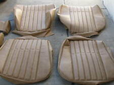 BMW E21 320i NATURAL  VINYL STANDARD SEAT UPHOLSTERY KIT NEW