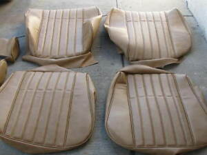 BMW E21 320i STANDARD FRONT SEAT UPHOLSTERY SEAT KIT BEAUTIFUL NEW