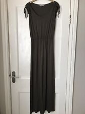 Ladies Long Dark Green Dress Size 10 From Dorothy Perkins NEW