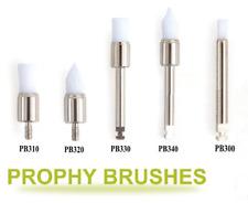 500pcs Dental Disposable dental prophy brush tapered/Flat brushes