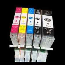 5x tinte Patronen für Canon PIXMA MG7752 MG5752 MG5753 MG6800 MG6850 mit CHIP
