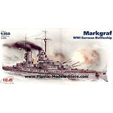 MARKGRAF GERMAN BATTLESHIP WWI 1/350 ICM S.005 S005