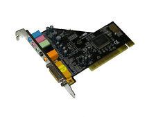 Techsolo Soundcard 5.1 6 Channels Sound PCI Sound Card 8