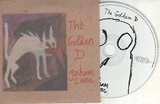 GRAHAM COXON - THE GOLDEN D - UK 3 TRK PROMO CD - CARD CASE - BLUR