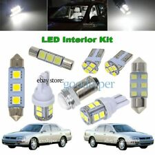 6x White LED Map Dome Light interior bulb package kit fit 1992-1996 Toyota Camry