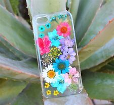 Pressed Dried Flower Case Cover for Samsung S8 S8 Plus S7 S7 Edge S6 S6 Edge S5