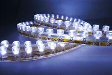 2x White 48-LED Side Headlight Daytime Running for Driving Strips Shine Lights