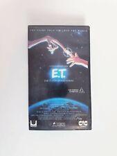 ET The Extra Terrestrial VHS Video - Stephen Spielberg