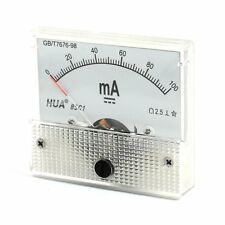 DC Analog Meter Panel 100mA  AMP Current Ammeters 85C1 0-100mA Gauge