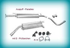 Auspuffanlage Abgasanlage Fiat Stilo (192_) 1.6 16V 77KW / 105PS Fließheck + Kit