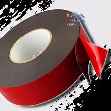 """2"""" Wide Double Sided acrylic Foam High Strength Adhesive Tape 60ft. Foot Roll US"""