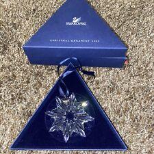 New ListingSwarovski 2003 Annual Edition Crystal Christmas Ornament - C28?