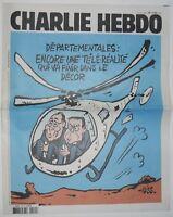 Charlie Hebdo - N*1182  - du 18 mars 2015