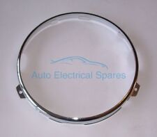 "Lucas 54521913 retaining rim CHROME for Lucas 7"" HEADLAMP for AUSTIN MORRIS MG"