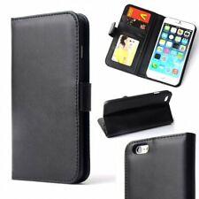 Luxe Flip Wallet hoesje voor iPhone 6 6S - Zwart