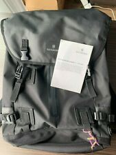 Victorinox Swiss Army Flapover Backpack, Black Color