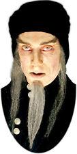 Barbe astrologue mage grise postiche de cinéma Vrais cheveux theatre costume