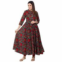 Indian Dress Cotton Retro Ehs Women Vintage Hippy Retro Blusa Vestir Boho Ethnic