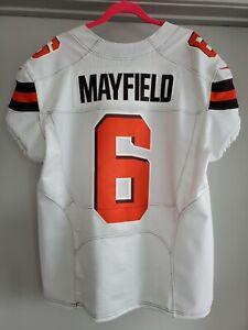 Baker Mayfield Cleveland Browns Nike Vapor Untouchable Elite Jersey Mens Size 48