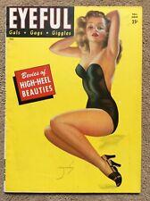 Eyeful Fall 1945 V2#3 Billy De Vorss ICONIC Cvr Silk'N High Heels. F! Spanker!