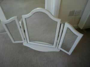 TRIPLE SWIVEL DRESSING TABLE MIRROR