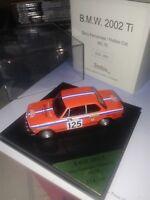 BMW 2002 TI RALLY MONTE CARLO 1976 BENNY FERNANDEZ TROFEU  1/43 DESCATALOGADO
