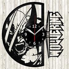 Wolverine Vinyl Record Wall Clock Decor Handmade 2107