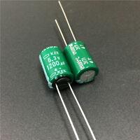 10pcs 1200uF 6.3V NCC KZE 10x16mm 6.3V1200uF Low ESR Motherboard Capacitor