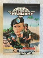 Micro Prose AIRBORNE RANGER (1987) Commodore 64 /128 Big Box Game 5 1/4 Floppy
