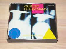 Georges IVANOVICH GURDJIEFF & THOMAS de HARTMANN 2 CD - henck / Wergo press MINT