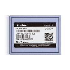 "1.8"" ZIF SSD 128GB for iPod Video 5th 5.5 Ipod Classic 6th & 7th gen MK1634GAL"