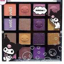 Wet n Wild Kuromi Eye Shadow Palette (Purples & Golds) SOLD OUT ONLINE!!