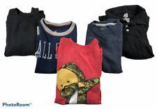 Lot Of 5 Boys Long Sleeve Winter Shirts Size 8