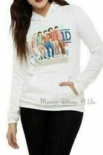 Vintage 1D One Direction Band Pull Over Hoody Sweatshirt Hoodie Juniors Size Lg