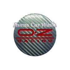 Set 4 Caps Hubcaps OZ Racing Wheels 2 15/32in New Original M595