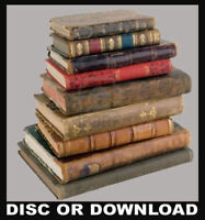 Real Antique Books Scanned Rare Maps Disc or Download LONDON HISTORY