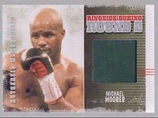 Michael Moorer 2011 Ringside Boxing 2 In My Corner Trunks Silver //50 *AA418