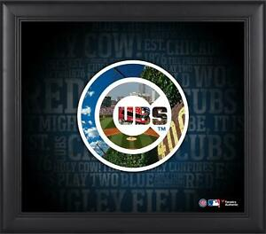Cubs Framed 15x17 Team Heritage Collage - Fanatics