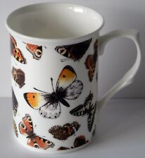 China Butterfly, butterflies mug, Standard bone china mug decorated all round