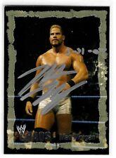 Matt Morgan Signed 2004 Fleer Wwe Chaos Card #53