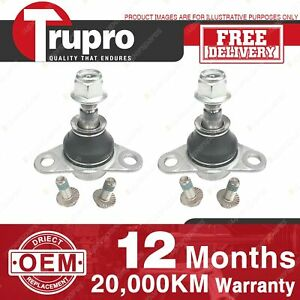 2 Pcs Brand New Trupro Lower Ball Joints for VOLVO XC90 AWD 98-05