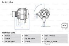 TO CLEAR Bosch 0986045390 Alternator Audi Skoda Seat VW